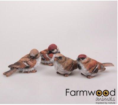 Vogeltjes woodstone 10cm