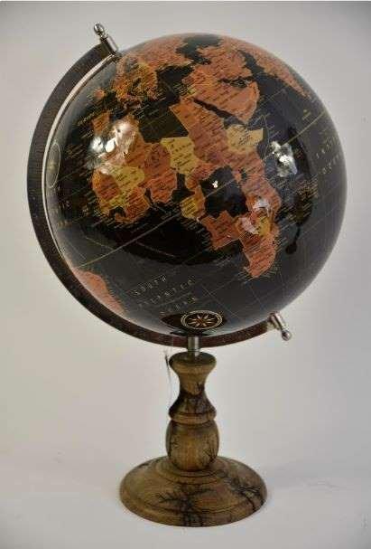Wereld bol groot 31 x 31 x 41cm