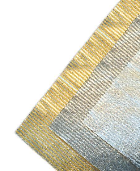 Lamellen doek zonwering polydak  EXCL. montage  500x300cm