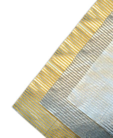 Lamellen doek zonwering polydak EXCL. montage  600x250cm