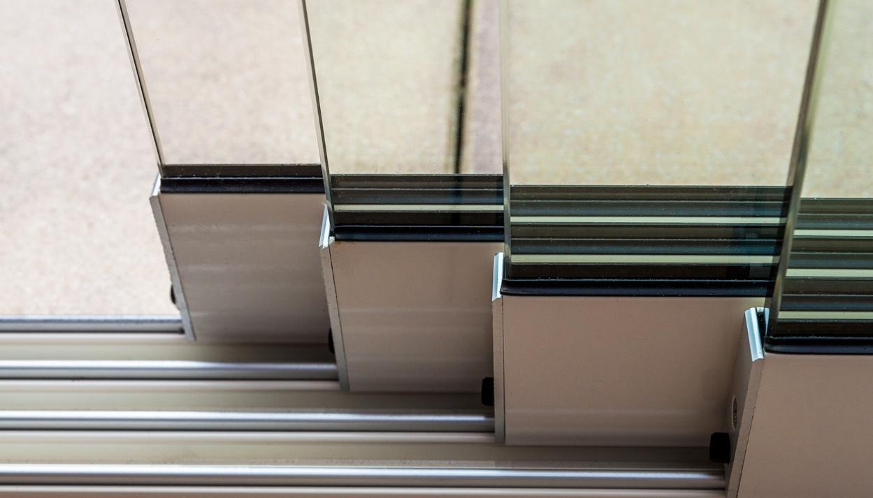 Glasschuifwand 7060 / 8 x 980 cm