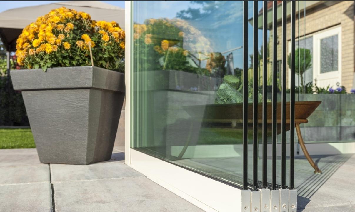 Glasschuifwand 3060 / 3 x 980 cm