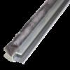 Glasschuif zijwand + poly spie   3500mm / 4 x 980