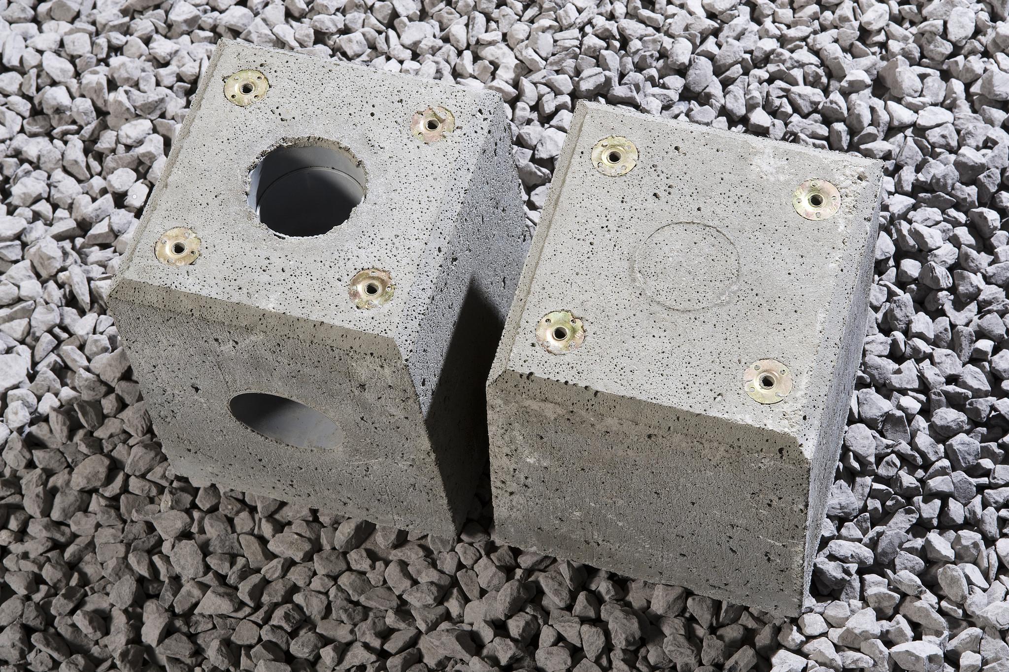 Standaard beton poer
