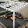 Veranda schuifdak polycarbonaat EXCL. MONT 400  x 350