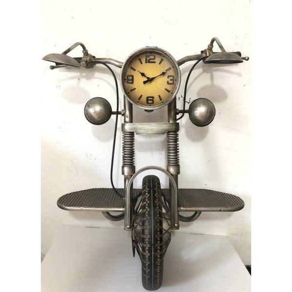 Motor fiets wandklok