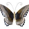 Metaal vlinder bruin model 1