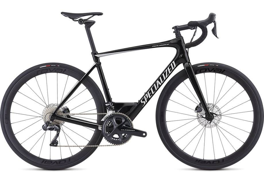 SPECIALIZED 2019 ROUBAIX EXPERT ULT. Di2 GLOSS COSMIC BLACK/KOOL SILVER 56 cm/Large