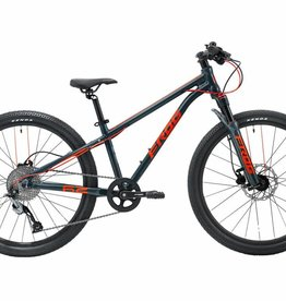 FROG Frog MTB 69 - Metallic Grey / Neon Red