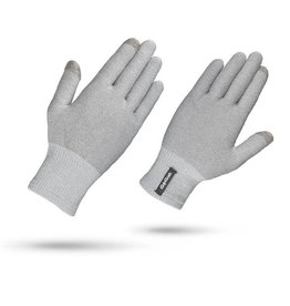 GRIPGRAB Merino Liner Winter Glove Large Grey
