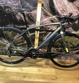 SPECIALIZED Pre-Loved SPECIALIZED DIVERGE SPORT A1 CEN STRL GREY/HYP/CYN 56cm/Large