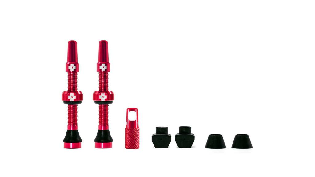 MUC-OFF Muc-Off Tubeless Valve Kit /44mm/Red