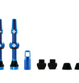 MUC-OFF Muc-Off Tubeless Valve Kit /44mm/Blue