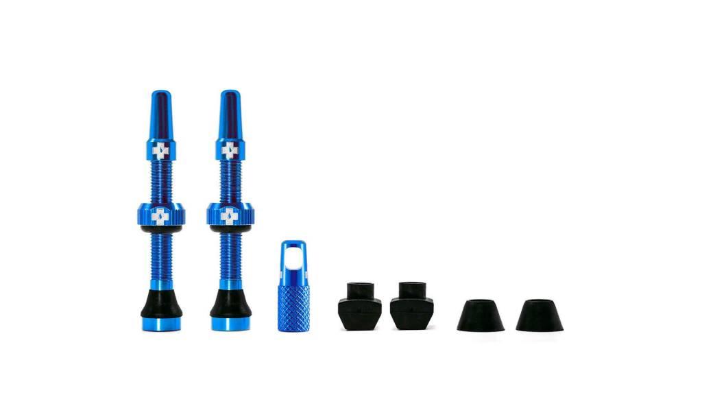 MUC-OFF Muc-Off Tubeless Valve Kit /44mm/Blue