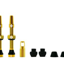 MUC-OFF Muc-Off Tubeless Valve Kit /44mm/Gold