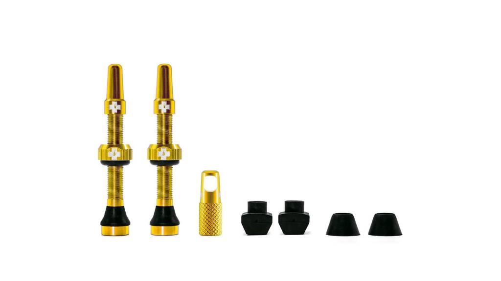 MUC-OFF Muc-Off Tubeless Valve Kit /44mm/Gold