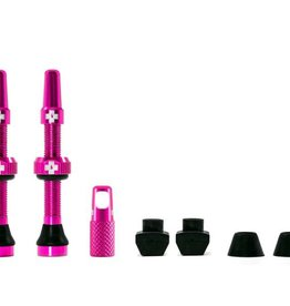 MUC-OFF Muc-Off Tubeless Valve Kit /44mm/Pink