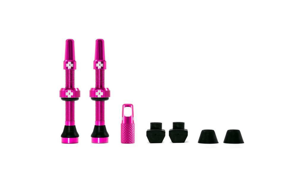 MUC-OFF Muc-Off Tubeless Valve Kit /44mm/Pink