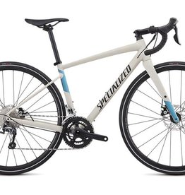 SPECIALIZED 2019 DIVERGE WOMEN E5 ELITE SATIN WHITE MTN/TROPICAL TEAL/NICE BLUE 52 cm