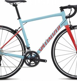 SPECIALIZED 2018 ALLEZ ELITE LTBLU/RKTRED 54 cm Medium - Reduced to clear