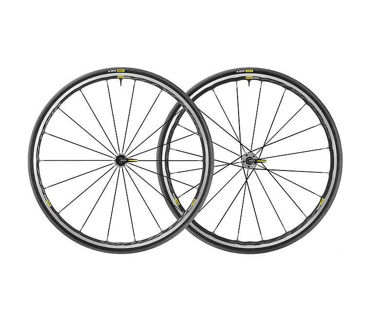 MAVIC 2019 Mavic Ksyrium Elite UST Pair Graphite Black M-25 Graphite Black (1520 grams pair)
