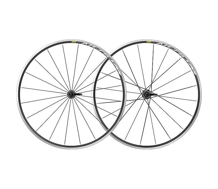 MAVIC 2019 Aksium Wheelset Pair Rim Brake (No Tyres) 1840 g pair