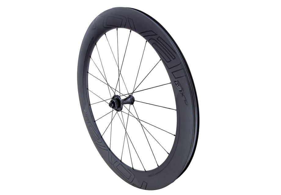 ROVAL CLX 64 DISC FRONT SATIN CARBON/GLOSS BLK
