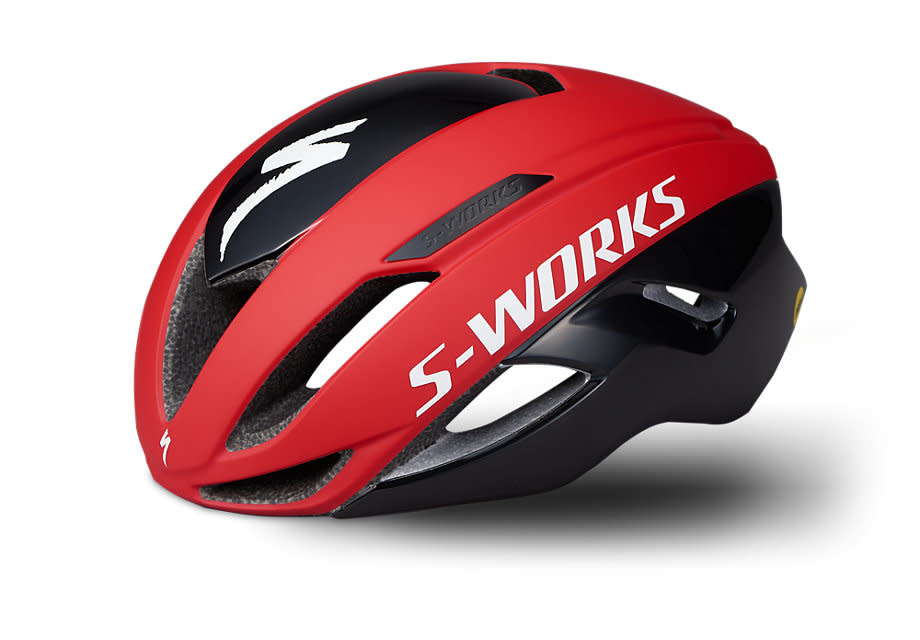 SPECIALIZED S-WORKS EVADE II HELMET ANGI MIPS CE TEAM RED/BLACK M