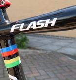 "CANNONDALE Pre-Loved 2012 Cannondale Flash Carbon 2 Carbon Lefty 26"" Large"