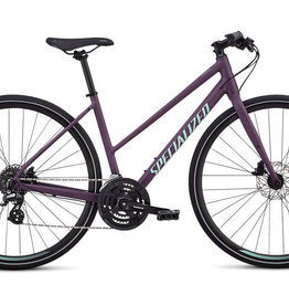 SPECIALIZED 2020 SIRRUS WOMEN STEP-THROUGH INT CAST BERRY/MINT