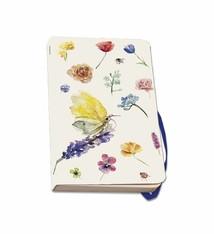 Softcover notitieboek A6 vlinders en bloemen