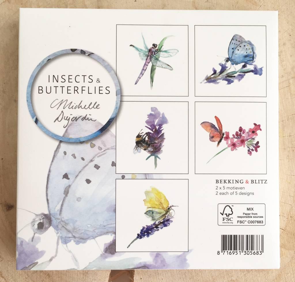 Vlinders en Insecten Wenskaarten