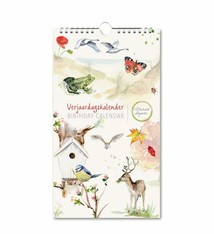 Nature birthday calender