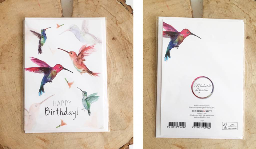 Greeting card of your choice with envelope