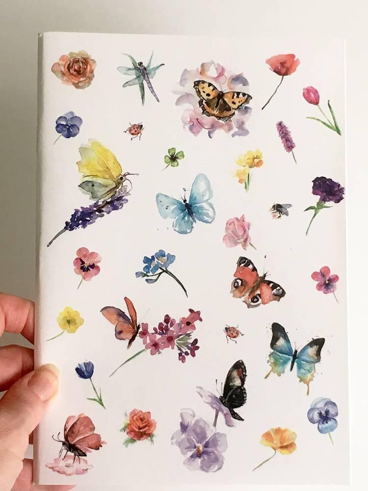 Schrift met illustraties van Michelle Dujardin