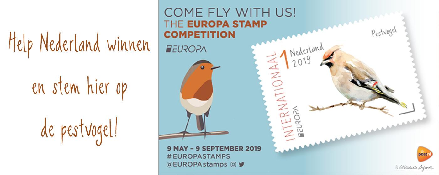 Postzegels met vogels