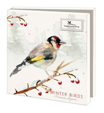 Wenskaarten Wintervogels Vogelbescherming
