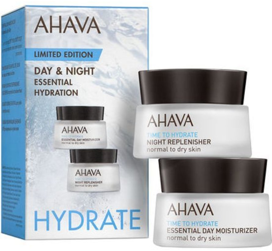 Ahava Time To Hydrate Essential Hydration Kit 2x 15ml
