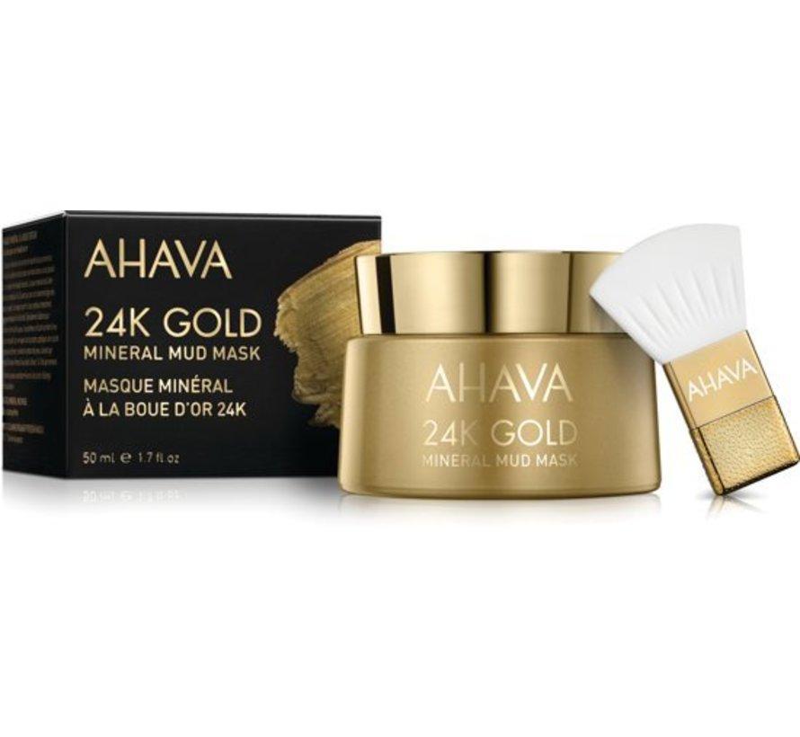 AHAVA 24K Gold Mineral Mud Masker 50 ml