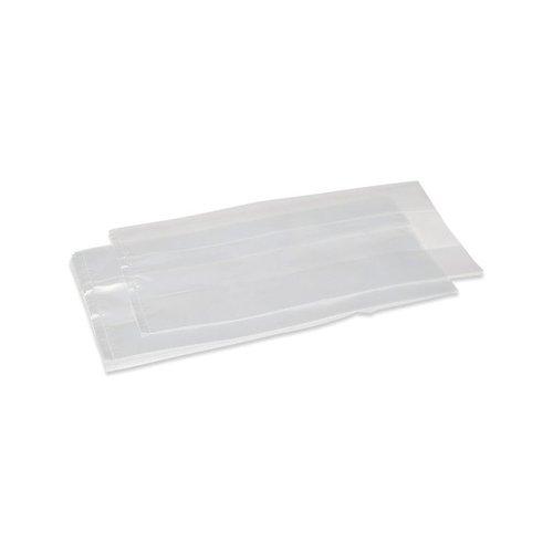 LDPE bag 20my transparant size 160/ 2x50 x 500 mm