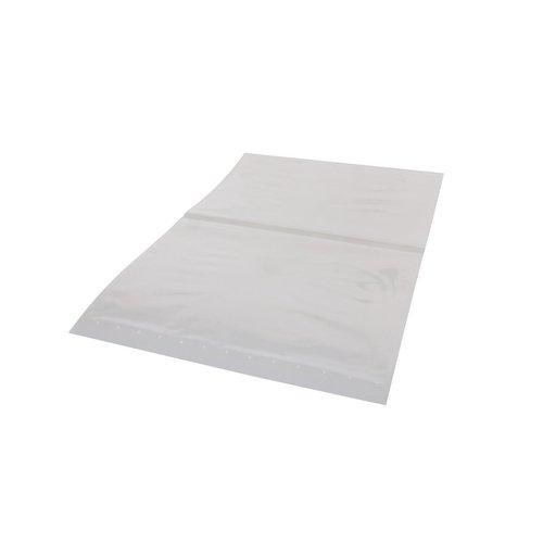 HDPE bag 20my transparent size  400 x 600 mm