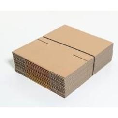 Folding box double corrugated cardboard CB Kraft format 475 x 370 x 180 mm