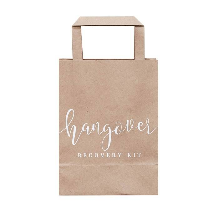 Ginger Ray Hangover cure bags