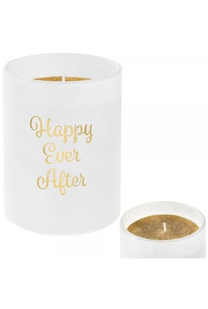Geurkaars Vanilla & Honey | 'Happy ever after'