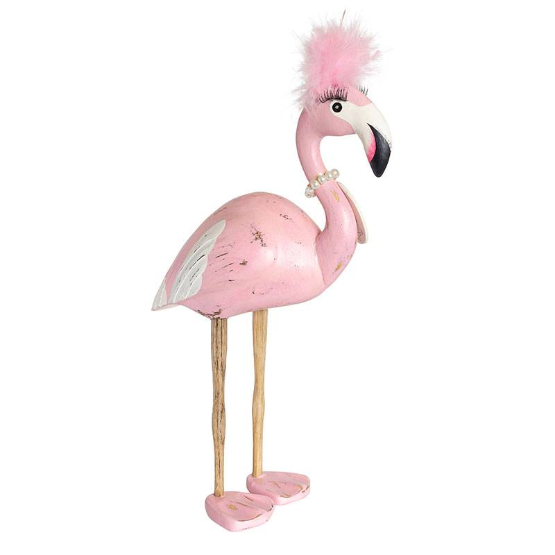 Dcuk Handmade Flamingo beeld    vrouw