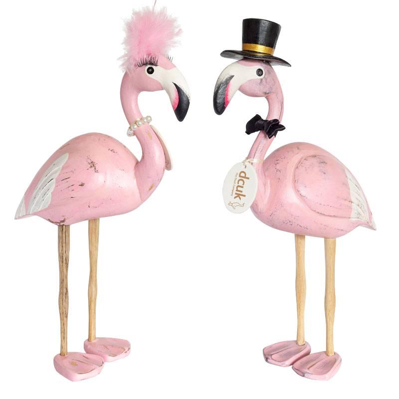 Dcuk Handmade Flamingo beeld  | vrouw