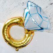 Ginger Ray Folieballon Gouden Ring