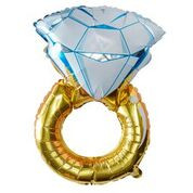 Folieballon Gouden Ring-1