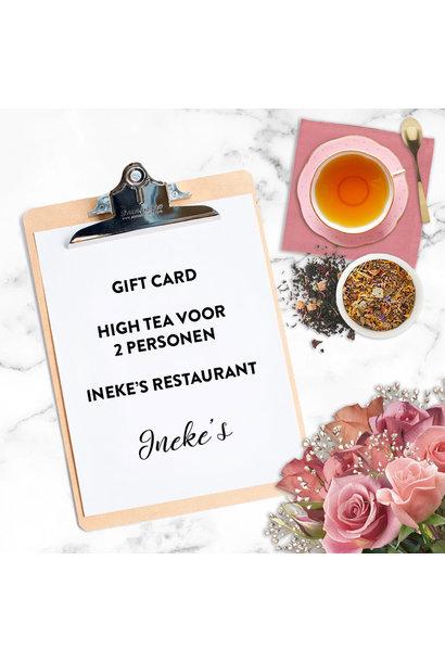 High Tea voor 2 personen bij Ineke's