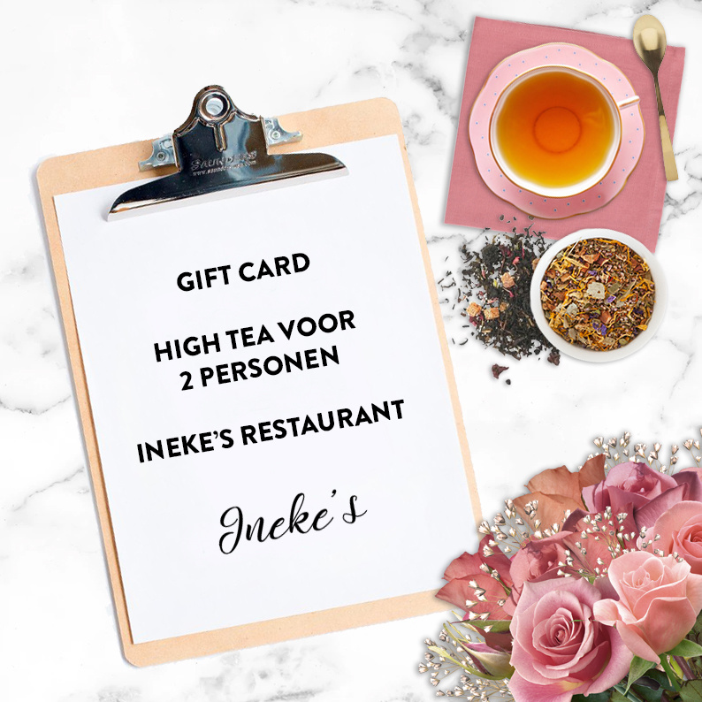 Crew I Do High Tea voor 2 personen bij Ineke's